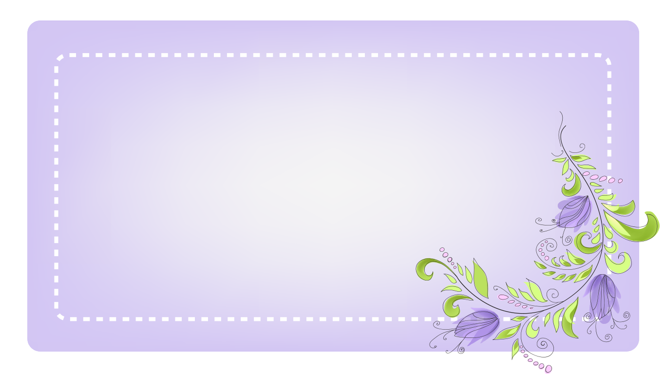 background scene - lavender card