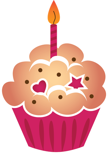 decorations - cupcake