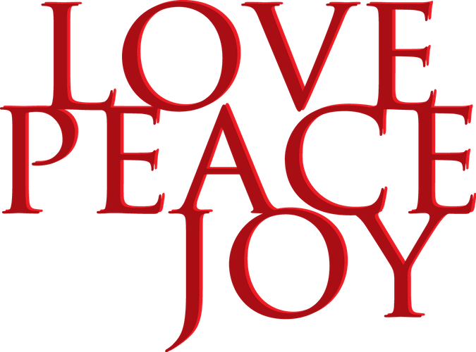 message - love peace joy