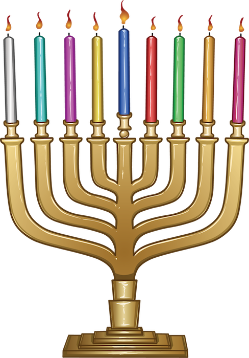 decorations - menorah