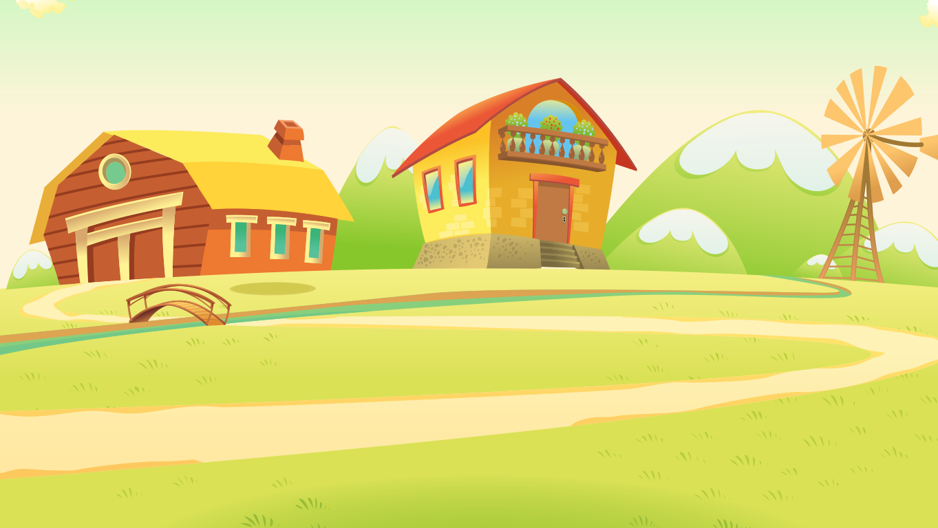 background scene - farm