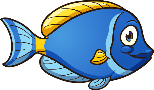 aquarium fish - cartoon fish 3