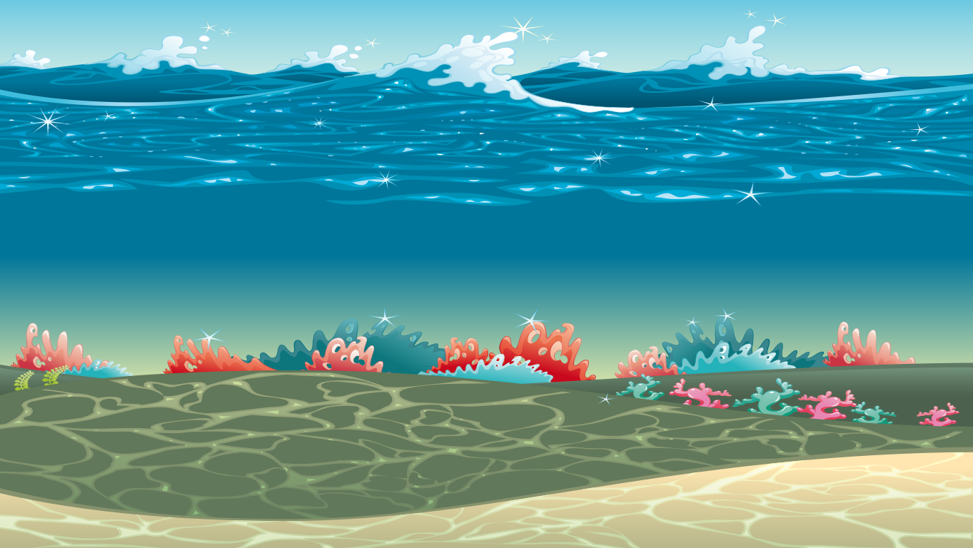 background scene - underwater