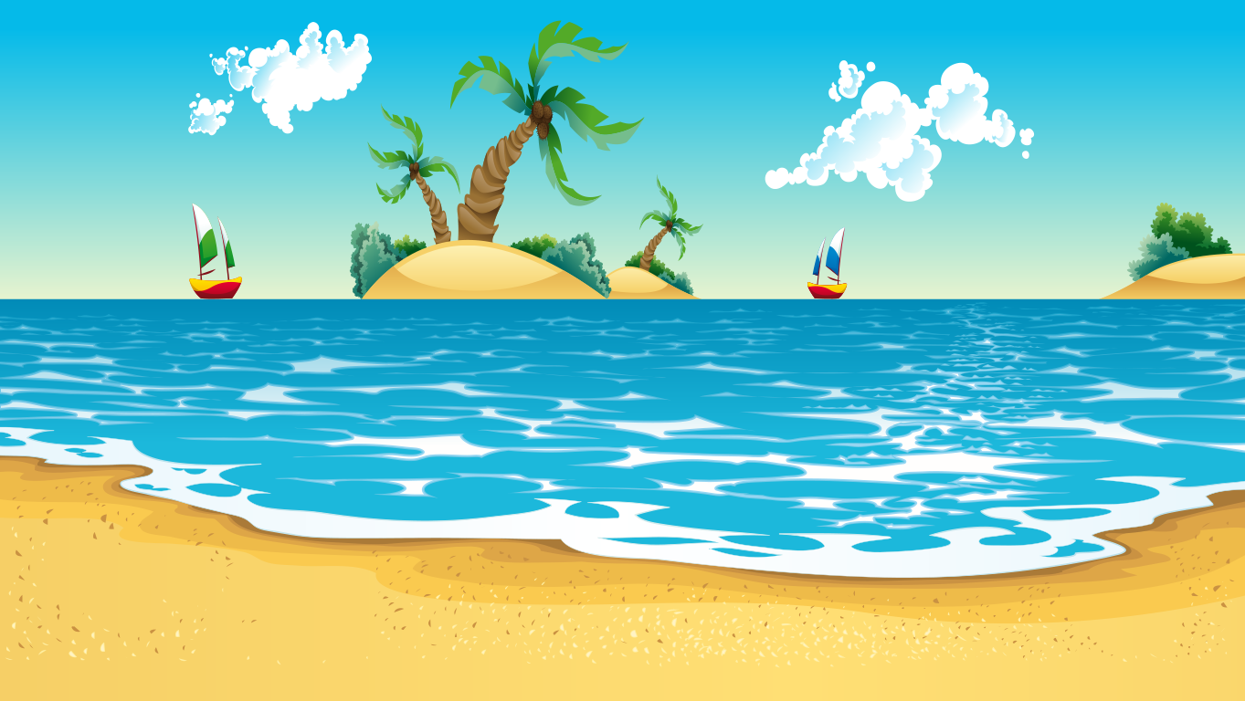 background scene - beach1