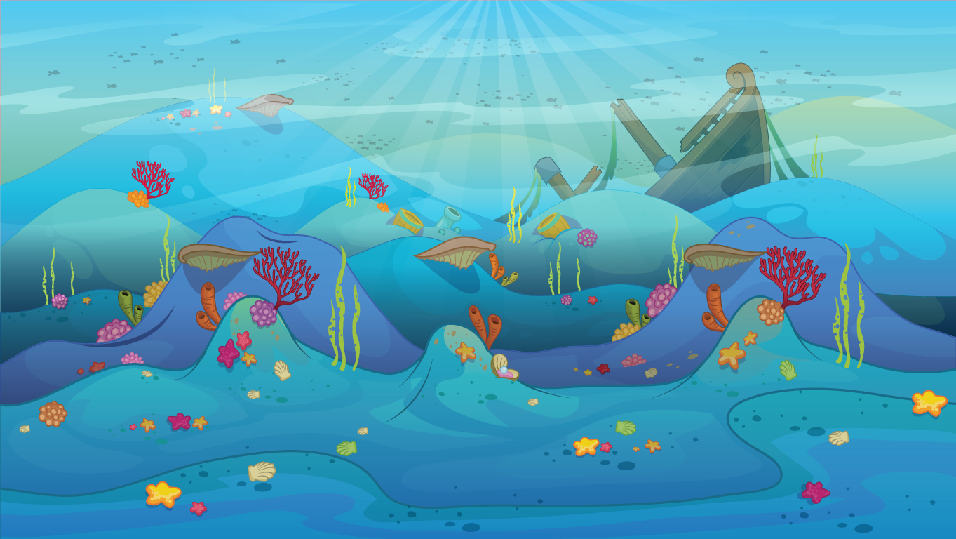 background scene - underwater landscape 2