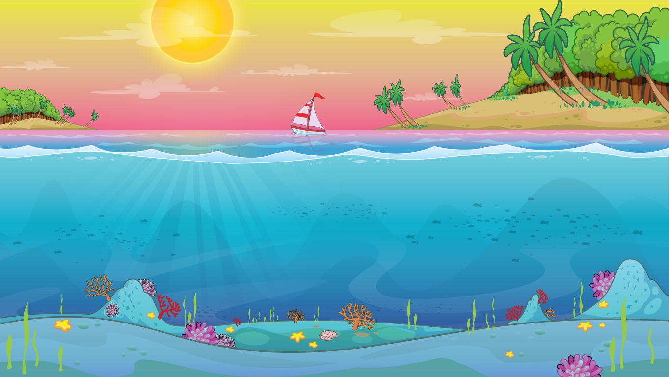 background scene - ocean side