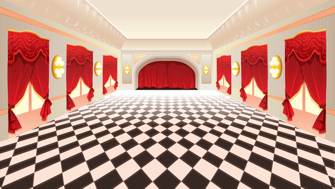 background scene - ballroom