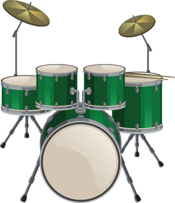 drumset green - drumset green