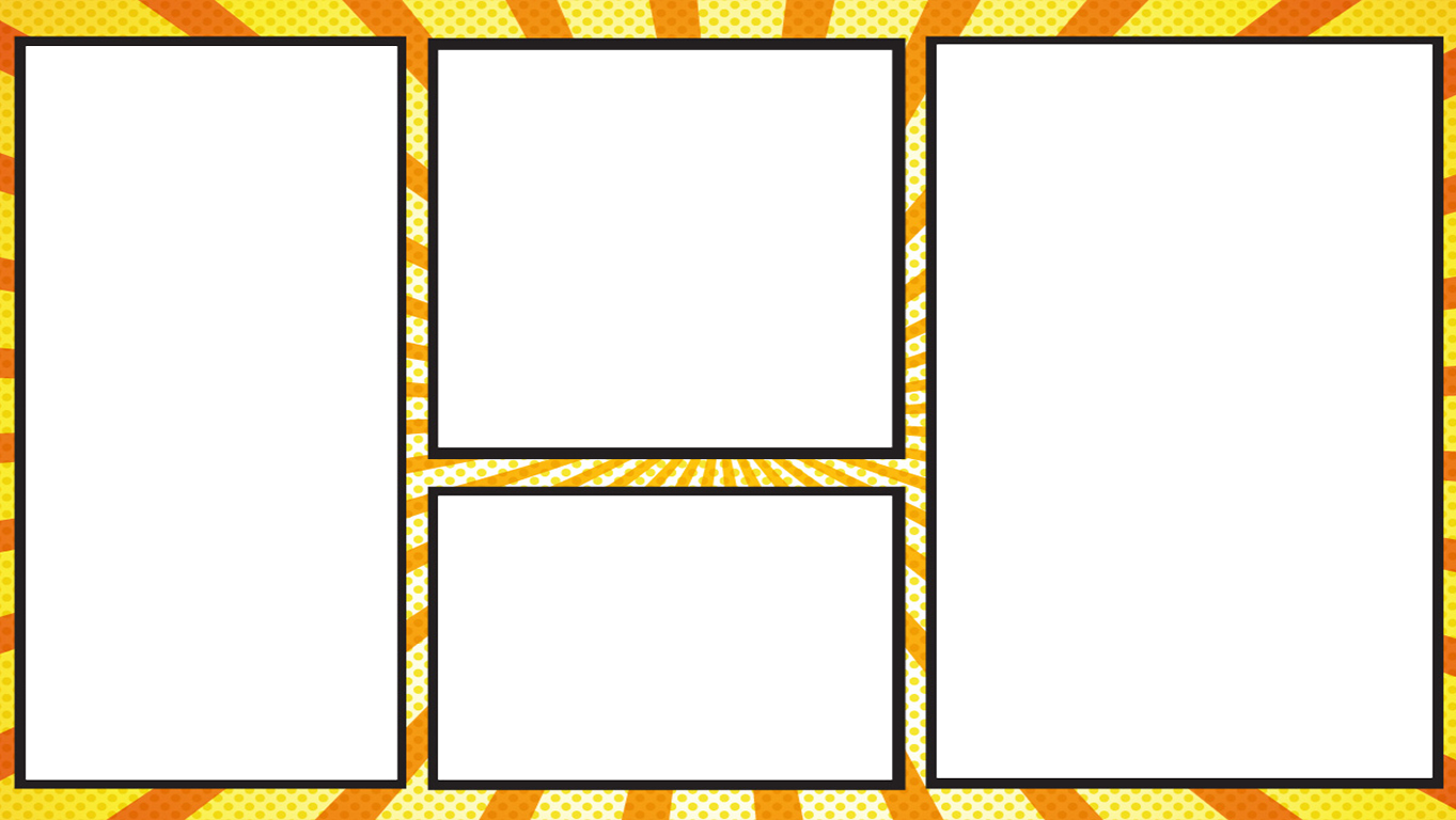 comic panels 1 transparent - comic panels 2 transparent