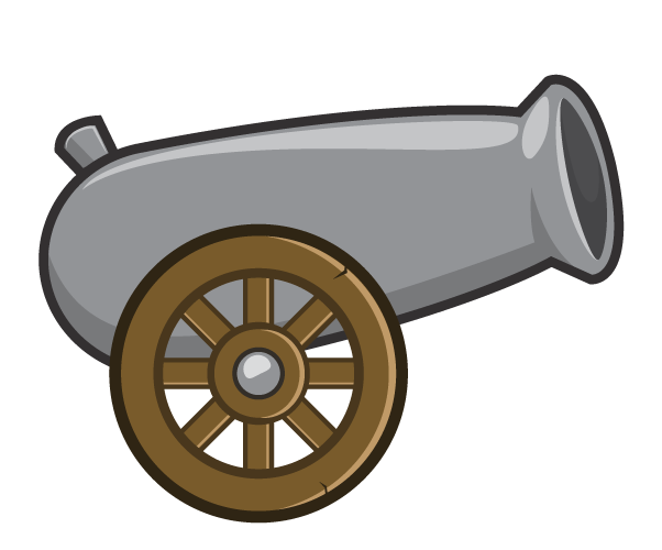 stamp - cannon1
