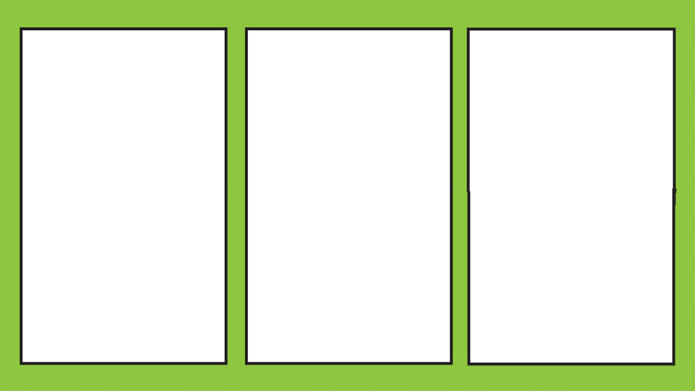 blank - comic panels 3 transparent