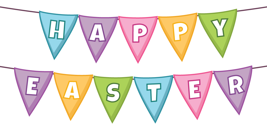 Message - easter banner