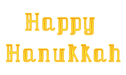 message - HappyHanukkah