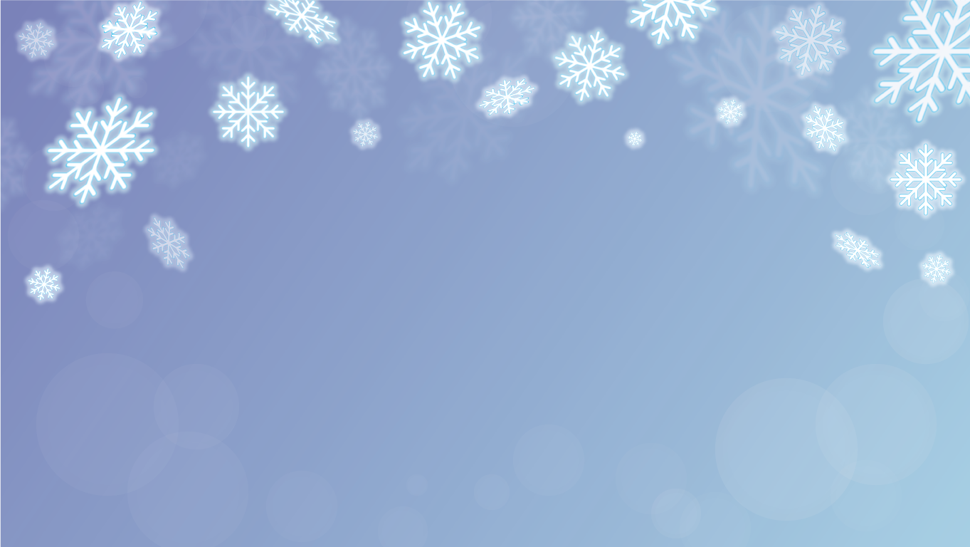 background scene - snowflake
