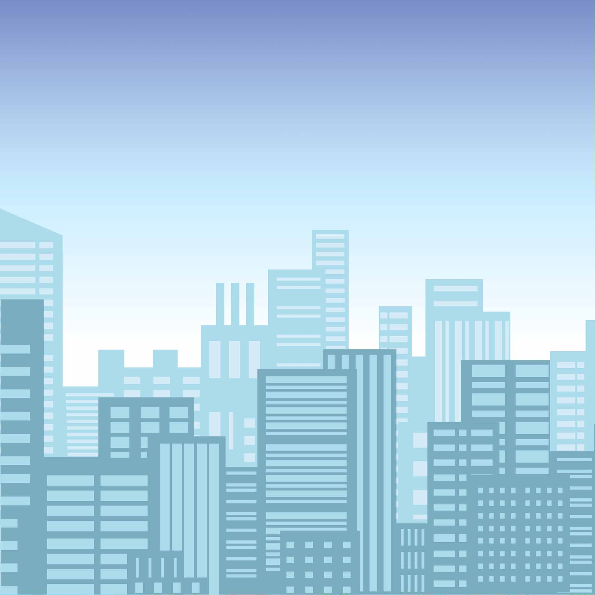 Background 1 - Blue City Background