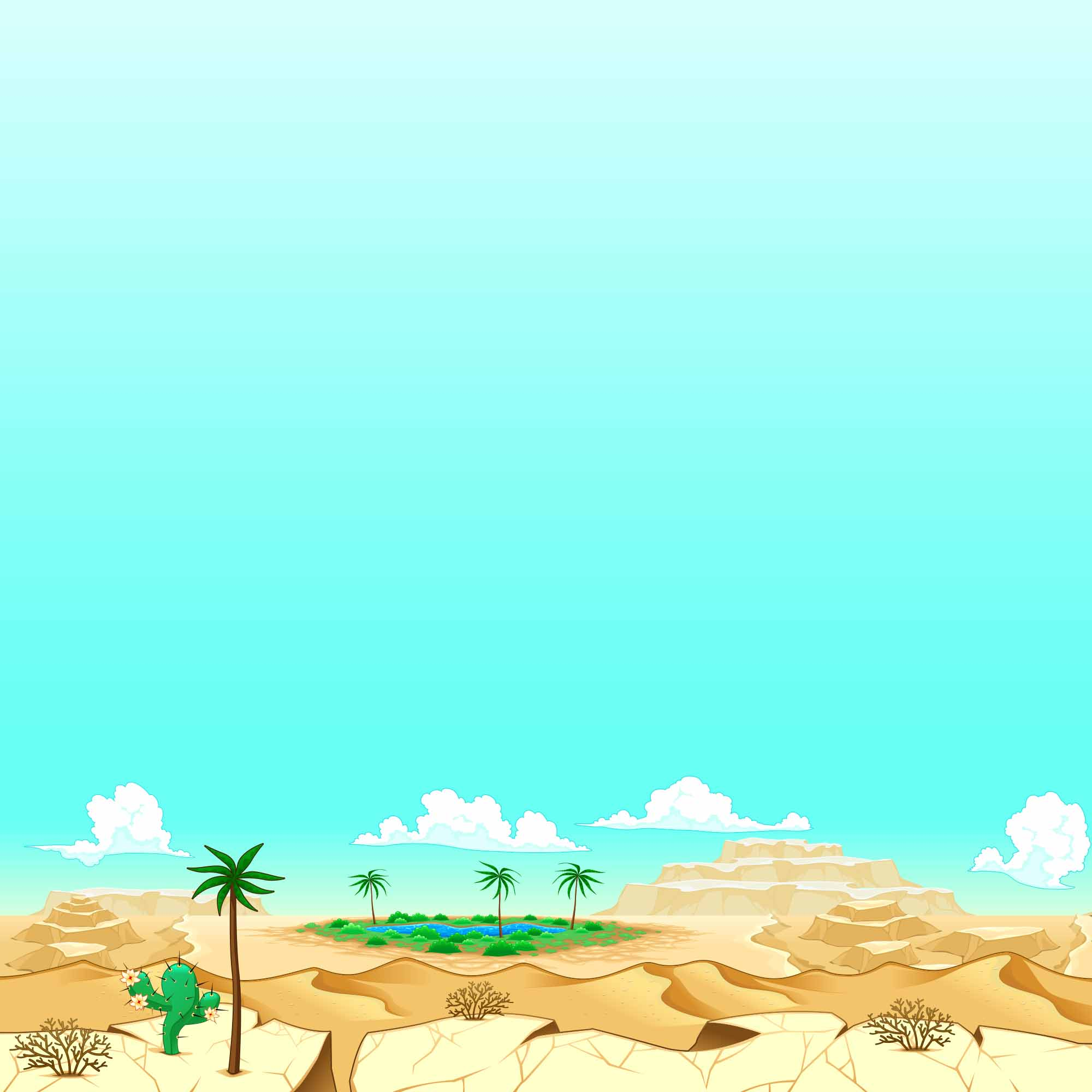 background scene - Desert Background