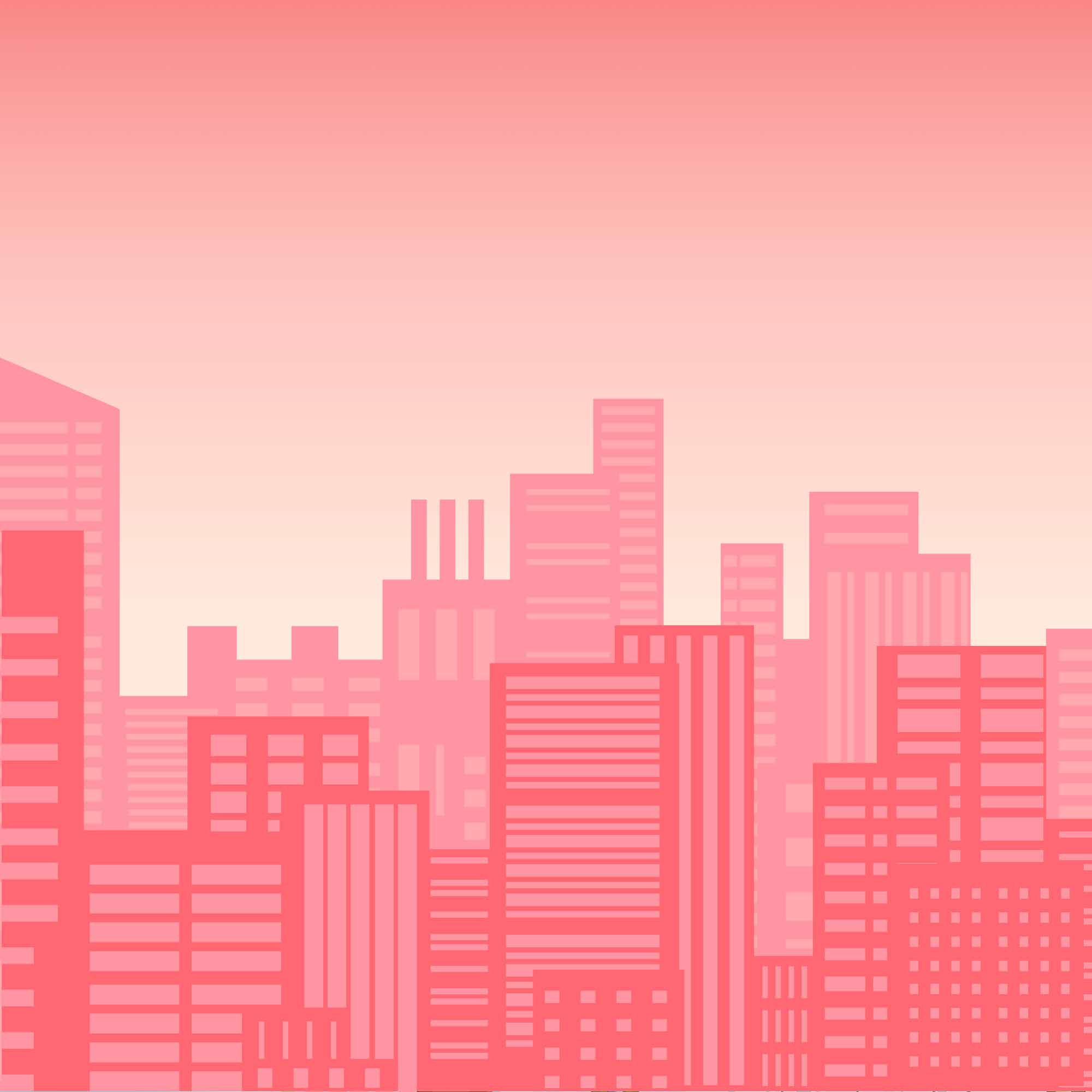 background scene - Pink City Background