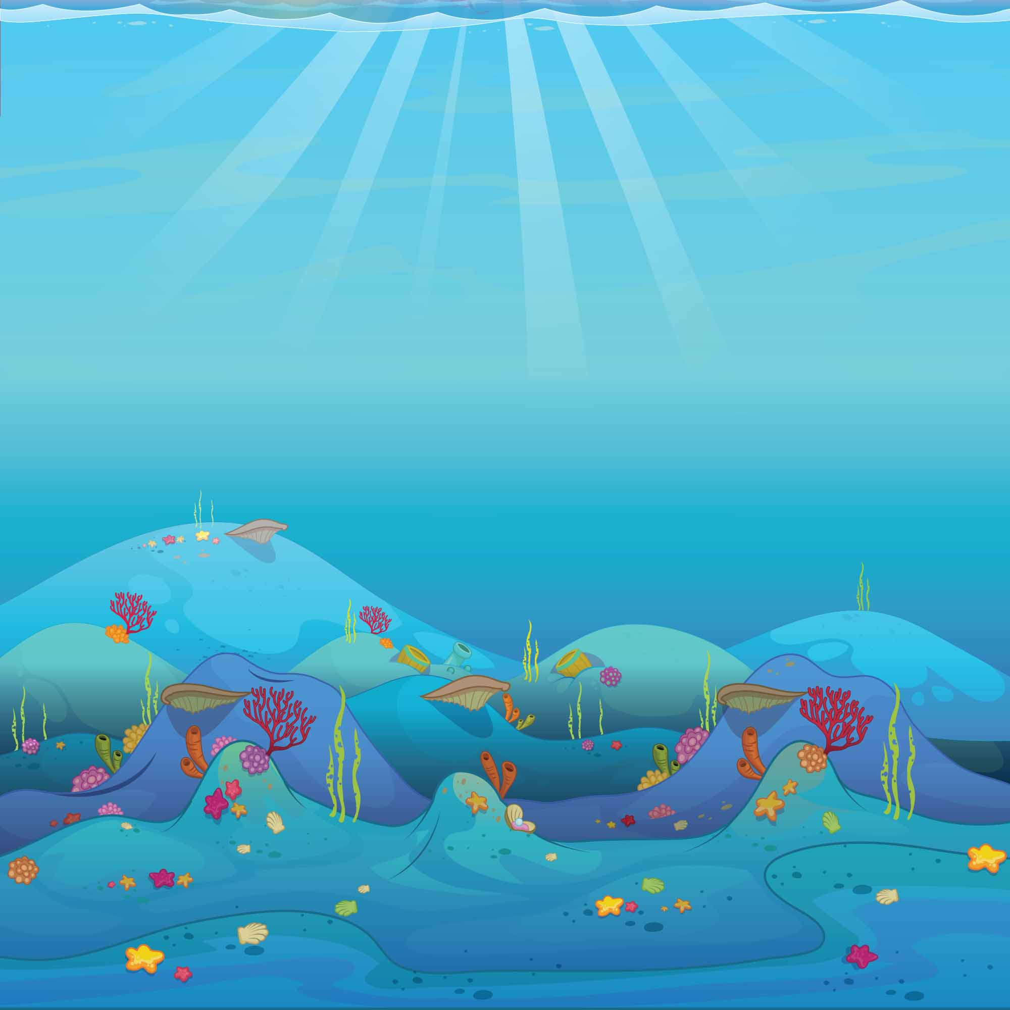 background scene - Underwater Background