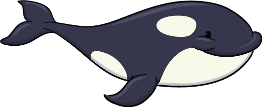 laser red - orca whale