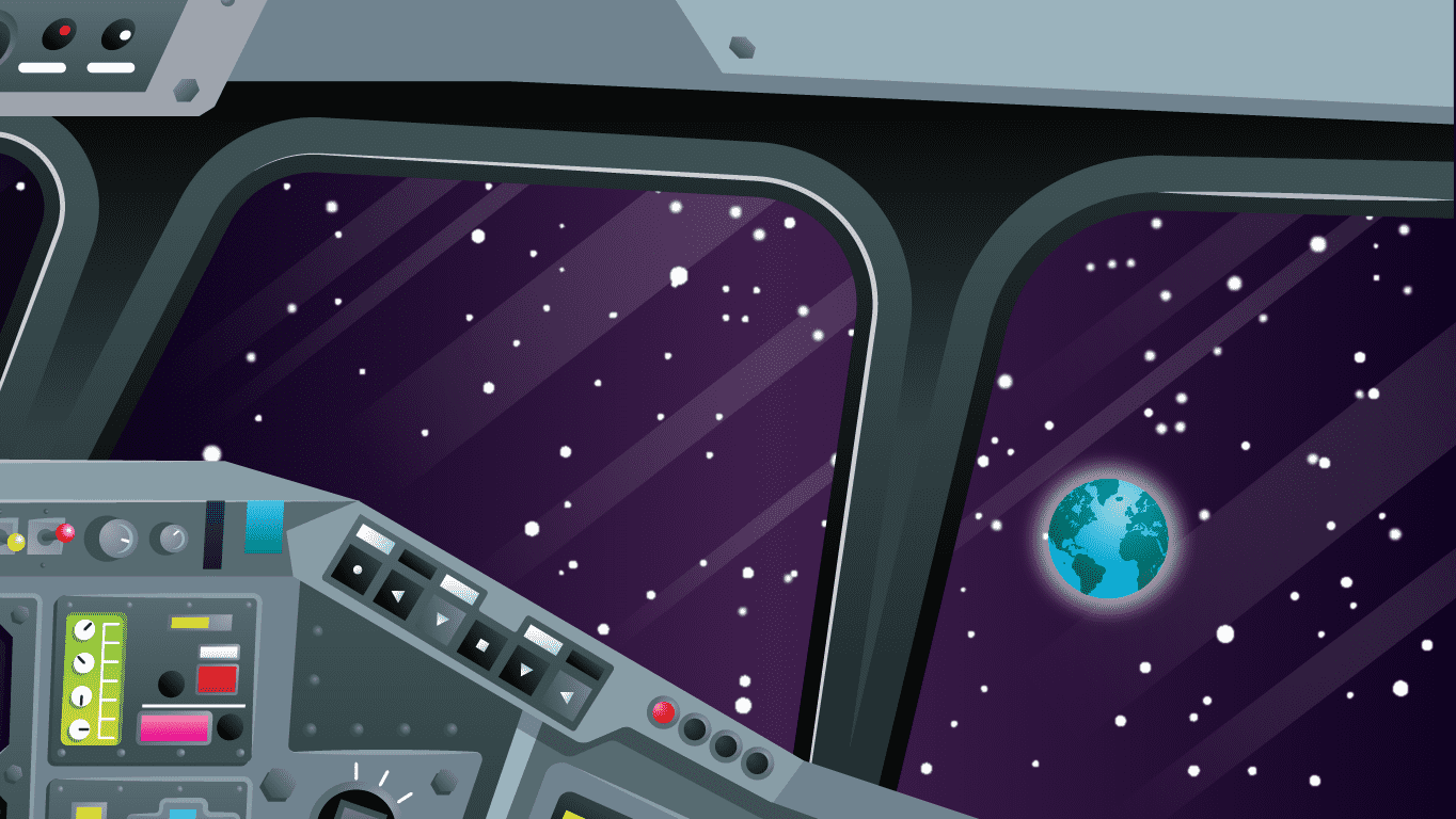 background scene - Cockpit Window