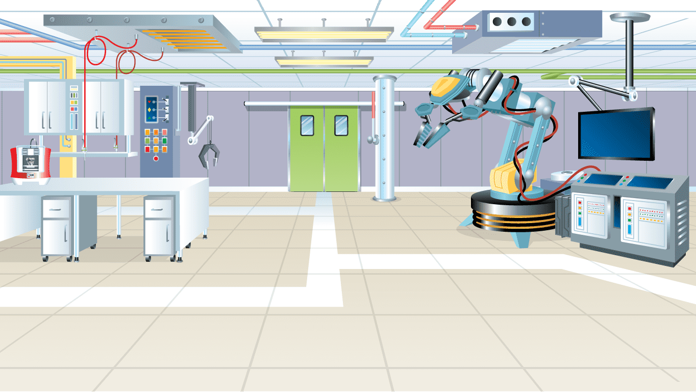 background scene - Robotics Lab