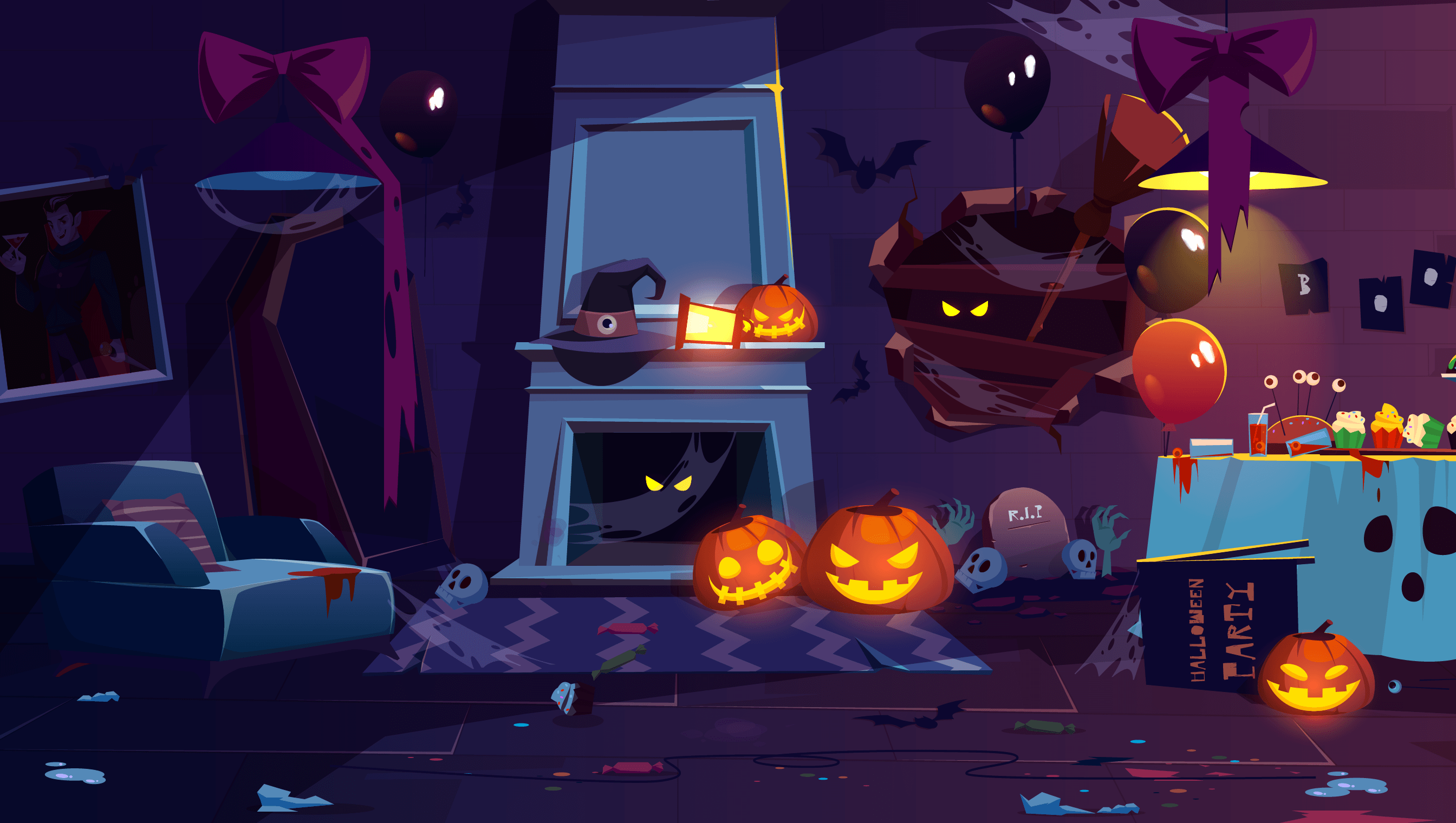 background scene - Halloween 10
