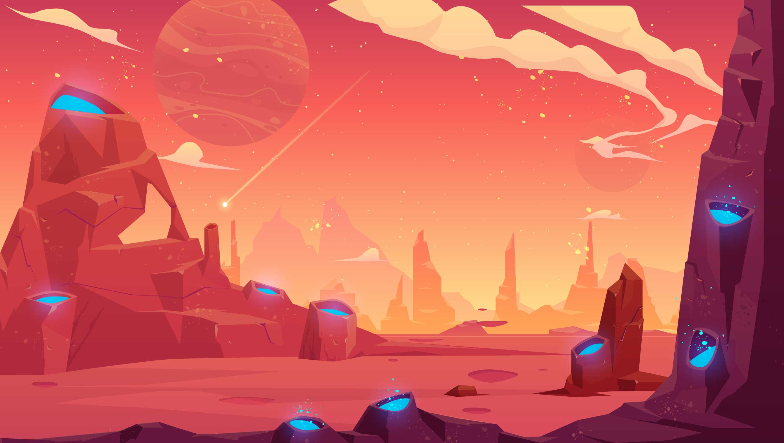 background scene - Space Background 11