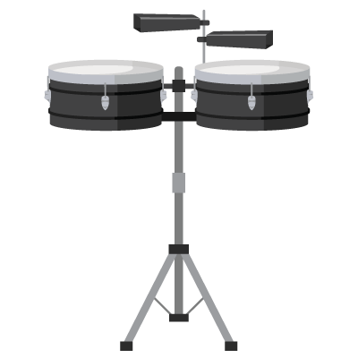 djembe1 - drums and cowbell