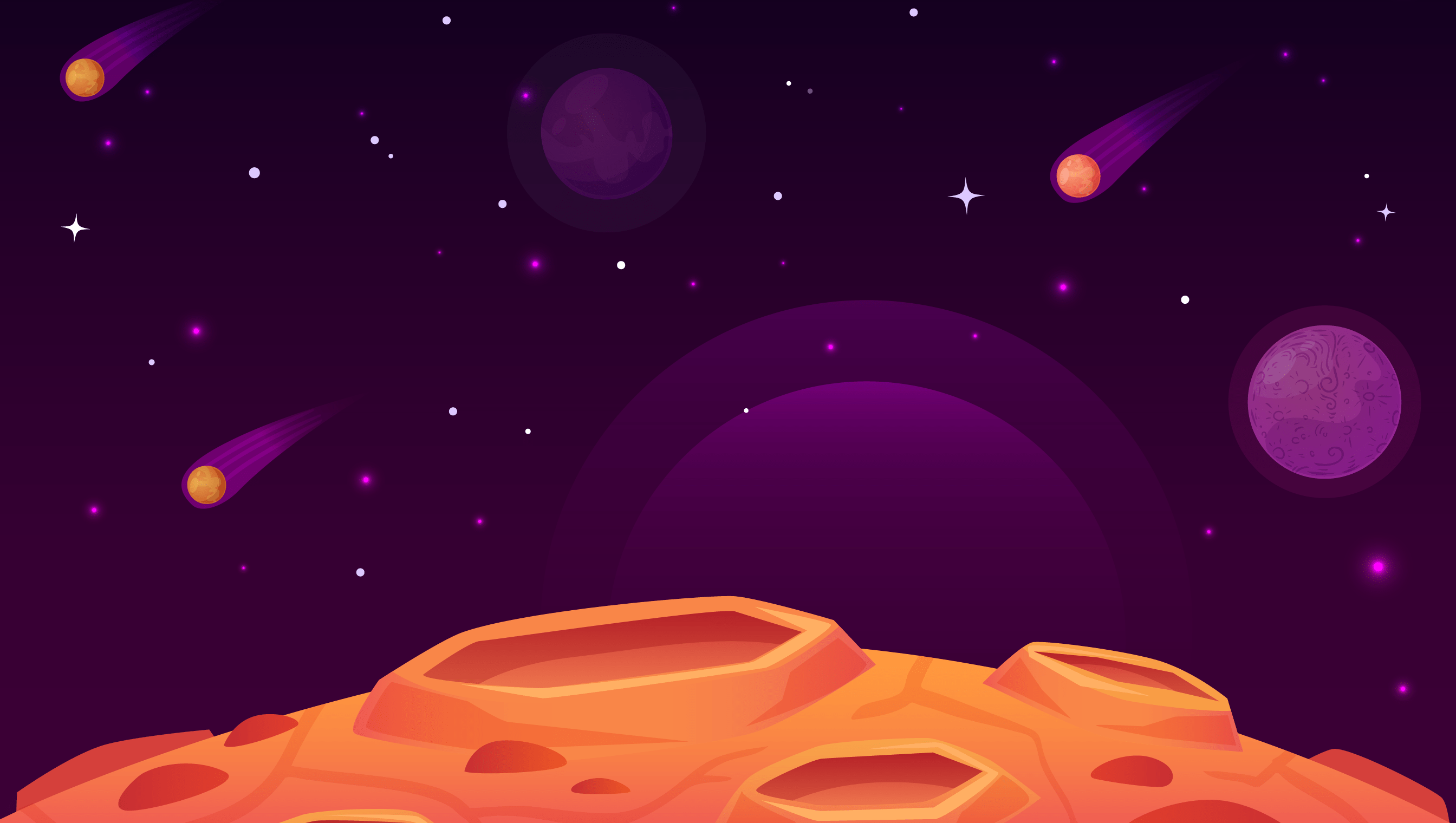background scene - Space Background 13