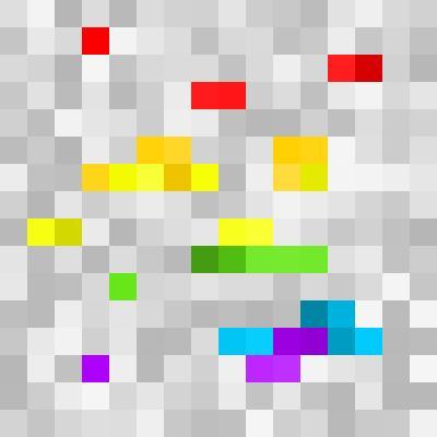 rainbow stone | Minecraft Blocks | Tynker