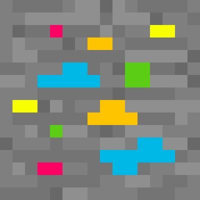 Rainbow Diamond Ore   Minecraft Blocks   Tynker