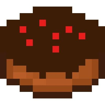 Chocolate Cake Minecraft Items Tynker