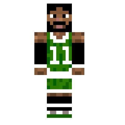 Kyrie Irving Minecraft Skins Tynker