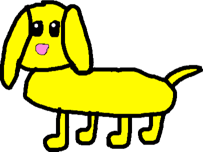 puppy 1 - drawing