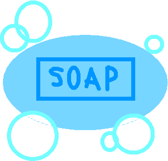 soap bar - drawing