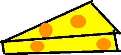 cheese - drawing
