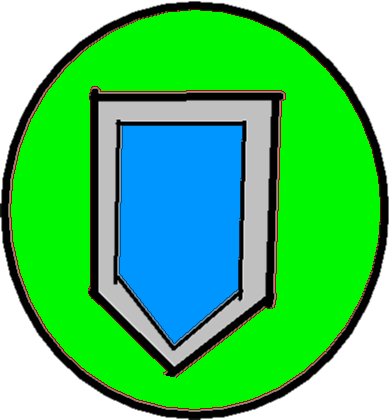 Shield button - drawing