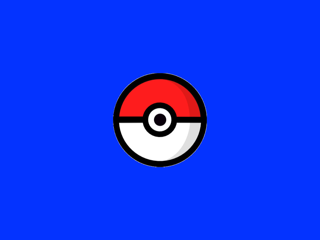 background scene - pokeball fall