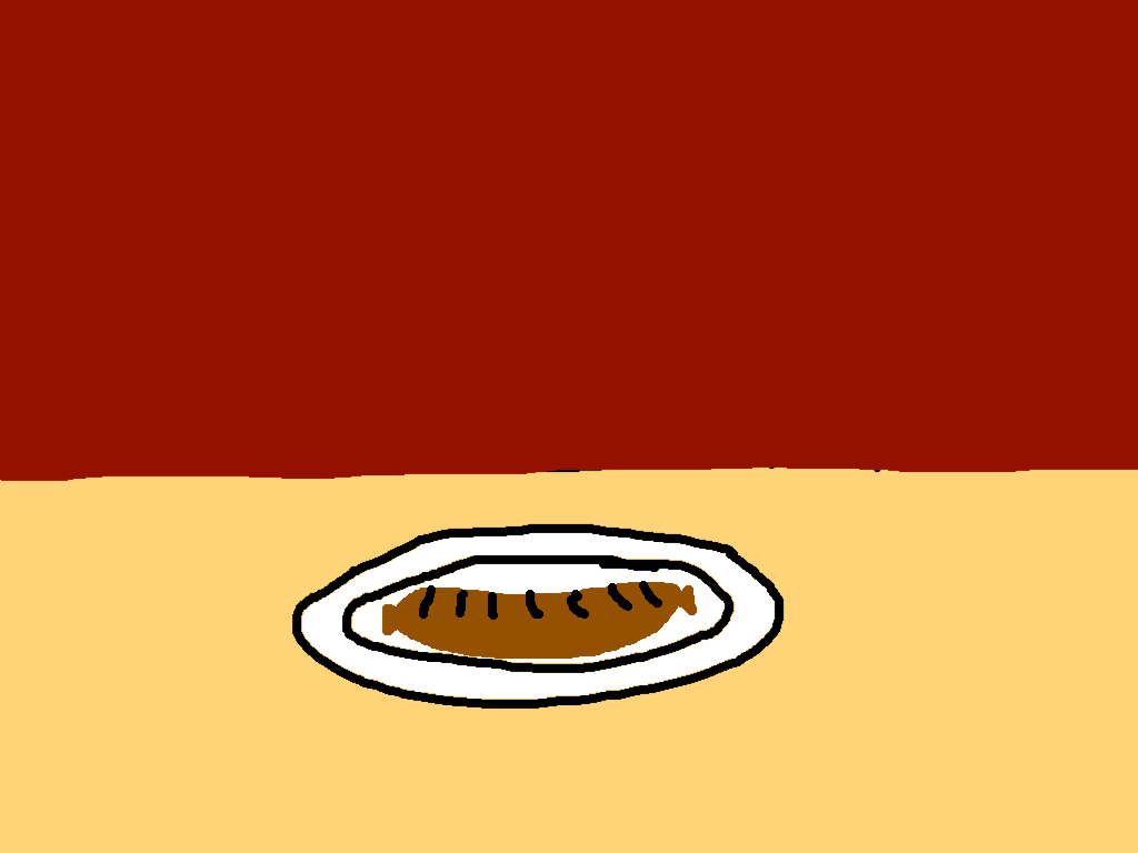 background scene - sausage table