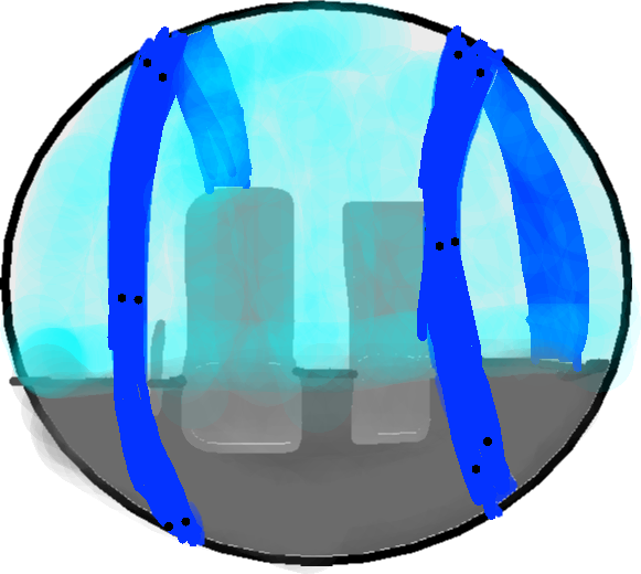 Gyrosphere Icon - drawing