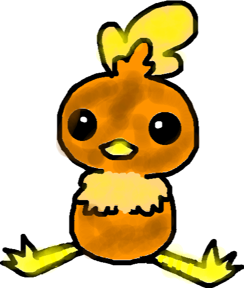 chickora - drawing