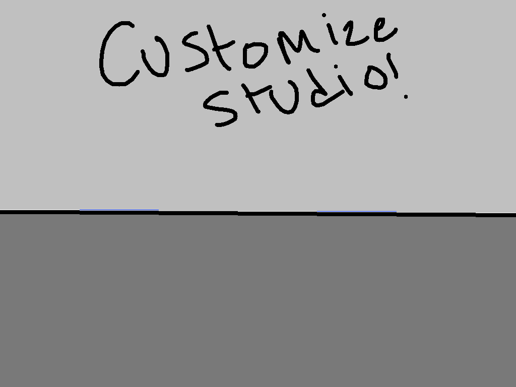 background scene - customize studio