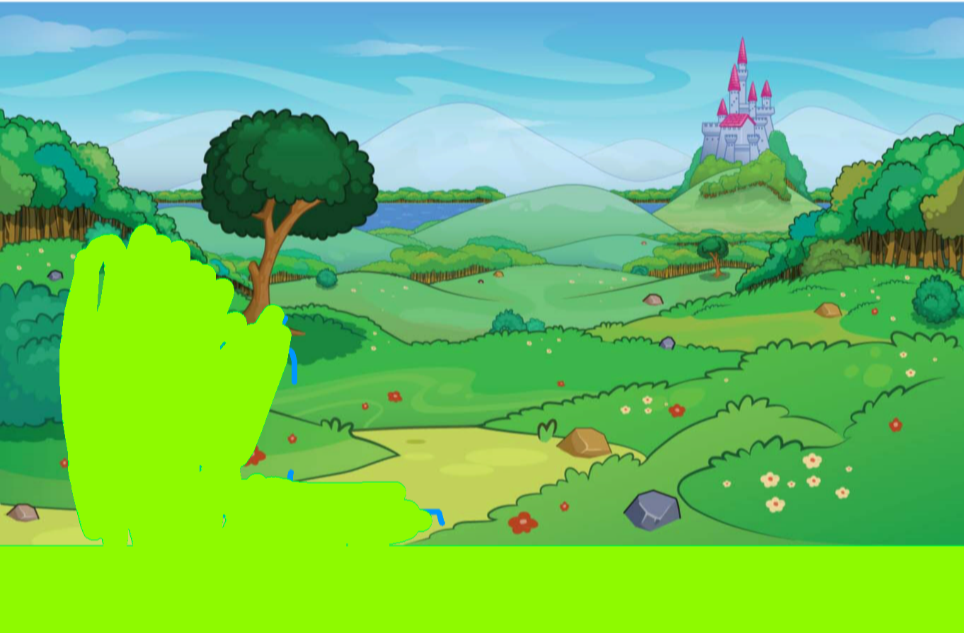 background scene - Castle Landscape
