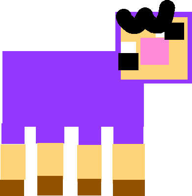 Purple Shep - shep normal