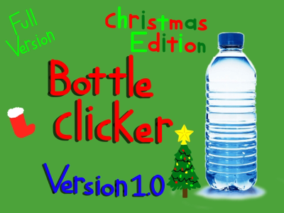 background scene - Christmas Bottle Clicker