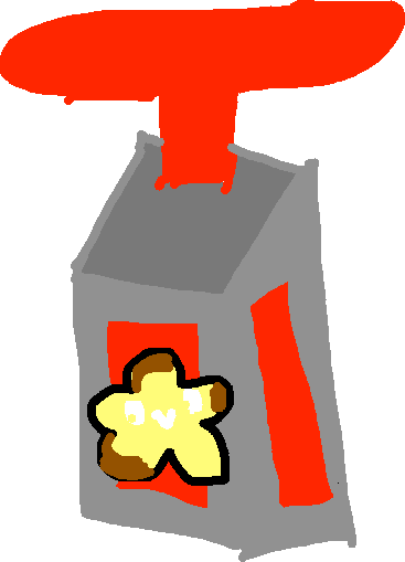 treat dispenser - drawing