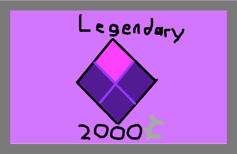 Legendary - drawing