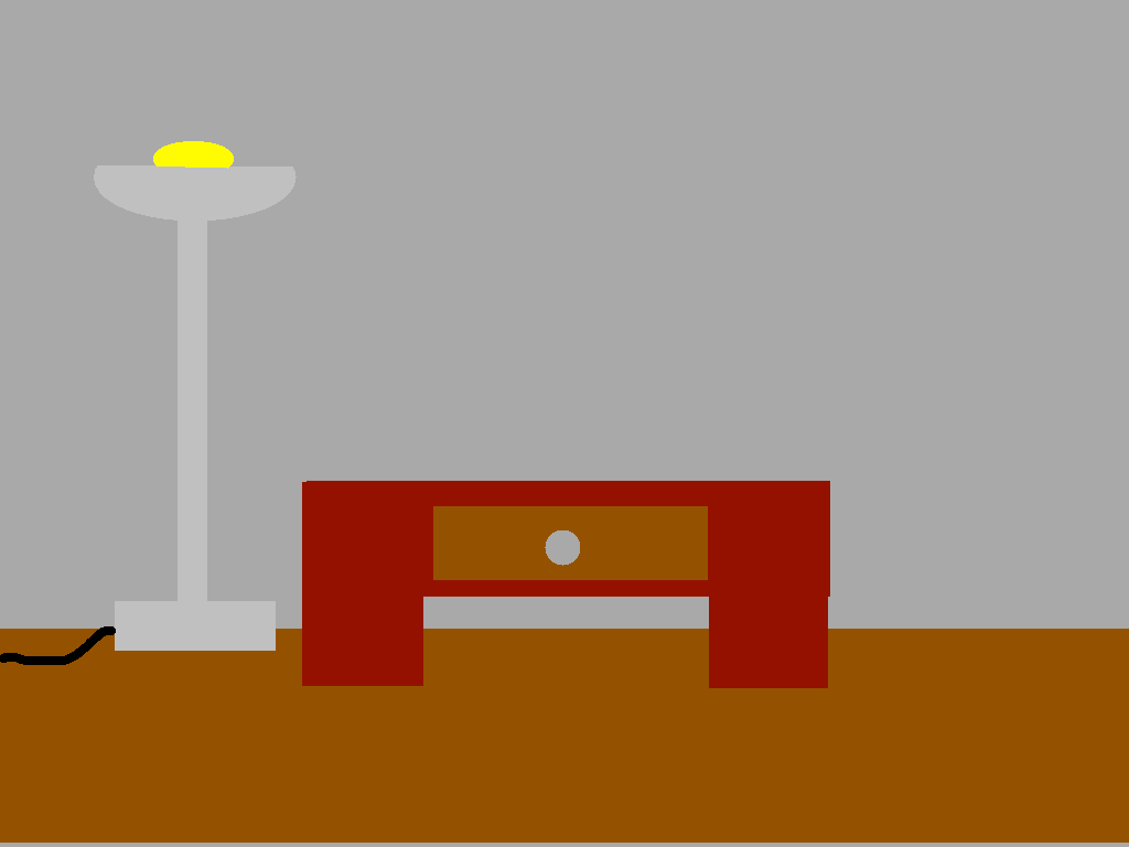 background scene - officeon