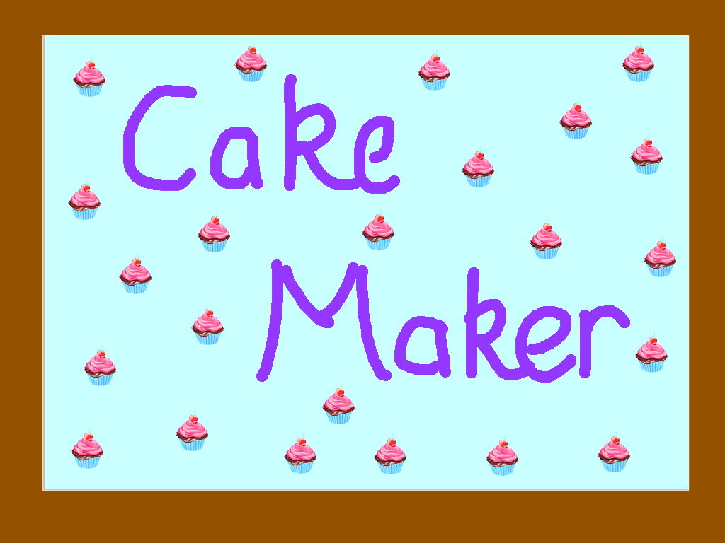 background scene - Cake Mania