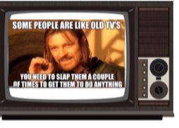 Old Tv - image